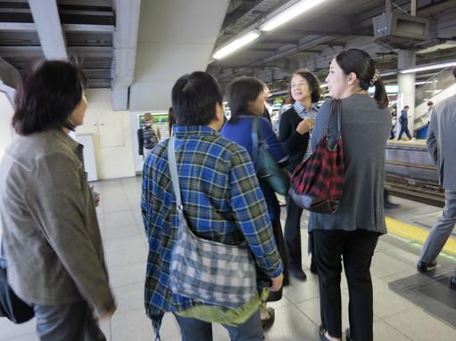 品川駅ホーム